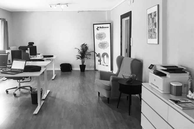 WebDivision AB kontor i Nässjö