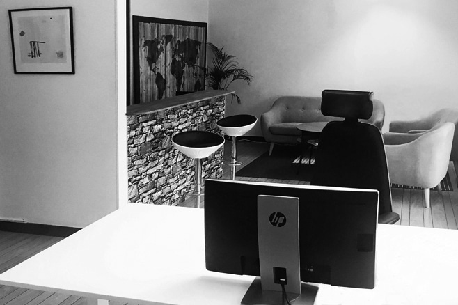 WebDivision AB kontor på Höglandet